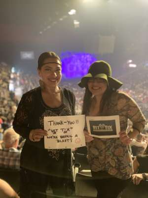 Jerry  attended Cher: Here We Go Again Tour on Mar 8th 2020 via VetTix