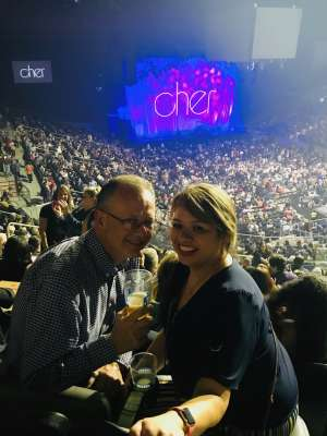 Tim & Donna attended Cher: Here We Go Again Tour on Mar 8th 2020 via VetTix