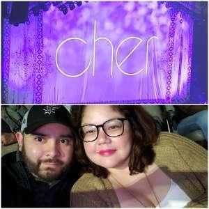 Johann attended Cher: Here We Go Again Tour on Mar 8th 2020 via VetTix