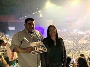 Alejandro, Harlingen Texas attended Cher: Here We Go Again Tour on Mar 8th 2020 via VetTix