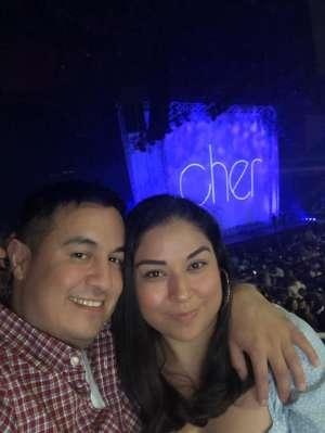 Jorge I. attended Cher: Here We Go Again Tour on Mar 8th 2020 via VetTix