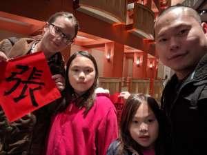 Rebecca attended Lunar New Year Celebration on Jan 25th 2020 via VetTix