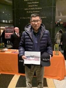Jimmy attended Lunar New Year Celebration on Jan 25th 2020 via VetTix