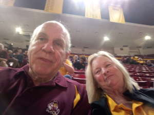 Fred attended Arizona State Sun Devils vs. UCLA - NCAA Women's Basketball on Feb 2nd 2020 via VetTix