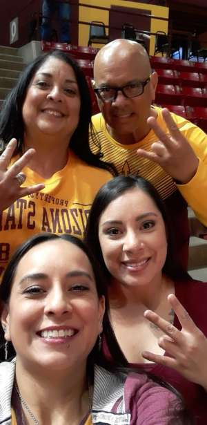 Christi attended Arizona State Sun Devils vs. UCLA - NCAA Women's Basketball on Feb 2nd 2020 via VetTix