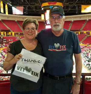 Nicholas attended Arizona State Sun Devils vs. UCLA - NCAA Women's Basketball on Feb 2nd 2020 via VetTix