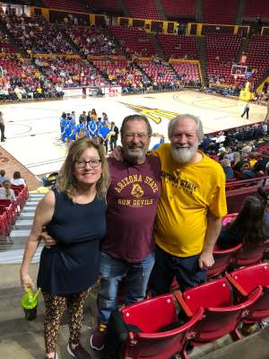 Richard attended Arizona State Sun Devils vs. UCLA - NCAA Women's Basketball on Feb 2nd 2020 via VetTix
