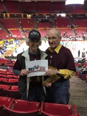 Muriel attended Arizona State Sun Devils vs. UCLA - NCAA Women's Basketball on Feb 2nd 2020 via VetTix