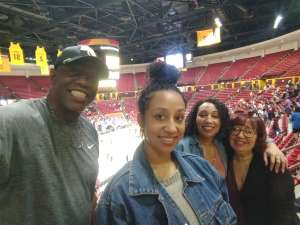 darrell attended Arizona State Sun Devils vs. UCLA - NCAA Women's Basketball on Feb 2nd 2020 via VetTix