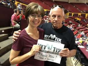 RONALD attended Arizona State Sun Devils vs. UCLA - NCAA Women's Basketball on Feb 2nd 2020 via VetTix