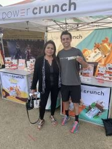 Janice attended Street Eats Food Truck Festival on Feb 9th 2020 via VetTix