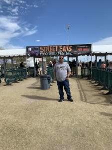 Ramon attended Street Eats Food Truck Festival on Feb 9th 2020 via VetTix