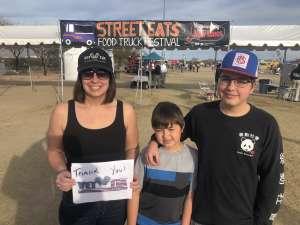 Tricia attended Street Eats Food Truck Festival on Feb 9th 2020 via VetTix
