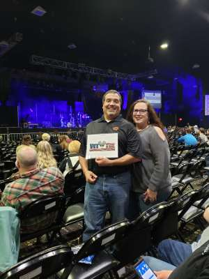 George attended Fitz and the Tantrums - All the Feels Tour 2020 on Feb 7th 2020 via VetTix