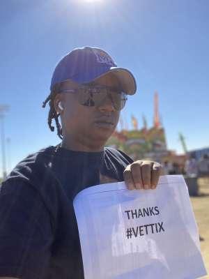 LaToya attended Street Eats Food Truck Festival on Feb 8th 2020 via VetTix