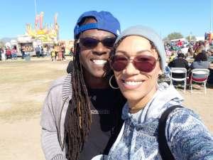 Yuvonne attended Street Eats Food Truck Festival on Feb 8th 2020 via VetTix