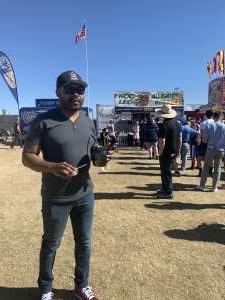 Ralphael attended Street Eats Food Truck Festival on Feb 8th 2020 via VetTix