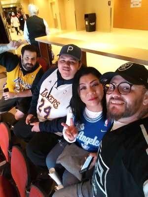 Jaime attended Arizona Coyotes vs. Los Angeles Kings - NHL on Jan 30th 2020 via VetTix
