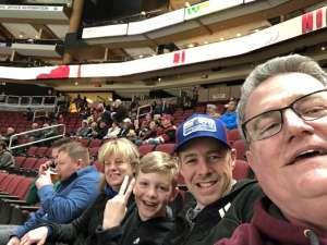 Brent attended Arizona Coyotes vs. Los Angeles Kings - NHL on Jan 30th 2020 via VetTix