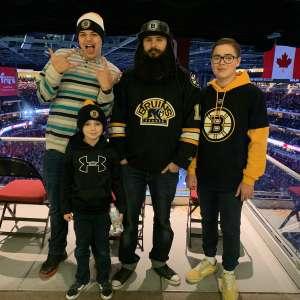 Terell attended Arizona Coyotes vs. Los Angeles Kings - NHL on Jan 30th 2020 via VetTix
