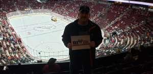 Gregory attended Arizona Coyotes vs. Los Angeles Kings - NHL on Jan 30th 2020 via VetTix