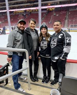Luis attended Arizona Coyotes vs. Los Angeles Kings - NHL on Jan 30th 2020 via VetTix