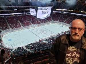 Dennis attended Arizona Coyotes vs. Los Angeles Kings - NHL on Jan 30th 2020 via VetTix