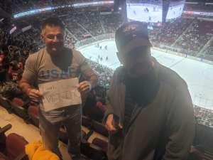 Perry attended Arizona Coyotes vs. Los Angeles Kings - NHL on Jan 30th 2020 via VetTix
