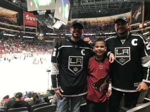 jesse attended Arizona Coyotes vs. Los Angeles Kings - NHL on Jan 30th 2020 via VetTix