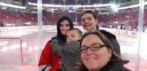 Jessica attended Arizona Coyotes vs. Carolina Hurricanes - NHL on Feb 6th 2020 via VetTix