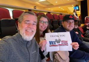 Jeremy attended Arizona Coyotes vs. Carolina Hurricanes - NHL on Feb 6th 2020 via VetTix