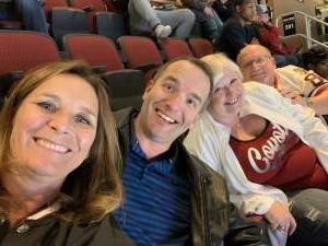 Dawn attended Arizona Coyotes vs. Carolina Hurricanes - NHL on Feb 6th 2020 via VetTix
