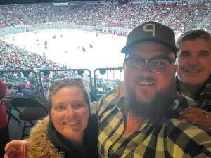 BENJAMAN attended Arizona Coyotes vs. Carolina Hurricanes - NHL on Feb 6th 2020 via VetTix