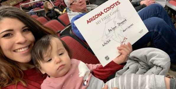 Gavin attended Arizona Coyotes vs. Carolina Hurricanes - NHL on Feb 6th 2020 via VetTix
