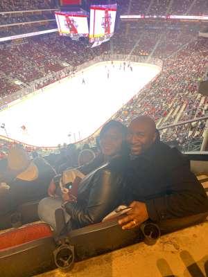 Gregory attended Arizona Coyotes vs. Carolina Hurricanes - NHL on Feb 6th 2020 via VetTix