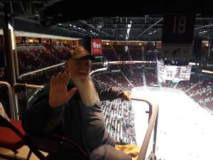 Steve attended Arizona Coyotes vs. Carolina Hurricanes - NHL on Feb 6th 2020 via VetTix