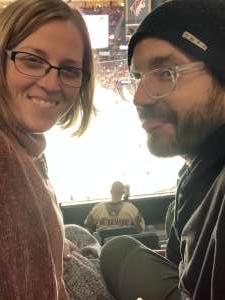 Zachary attended Arizona Coyotes vs. Carolina Hurricanes - NHL on Feb 6th 2020 via VetTix
