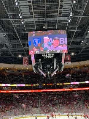 John Middleton attended Arizona Coyotes vs. Carolina Hurricanes - NHL on Feb 6th 2020 via VetTix