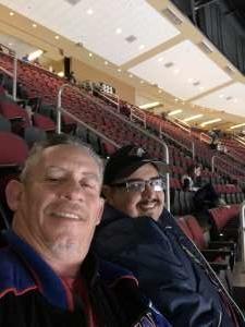 Frankie attended Arizona Coyotes vs. Carolina Hurricanes - NHL on Feb 6th 2020 via VetTix