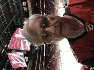 Bill attended Arizona Coyotes vs. Carolina Hurricanes - NHL on Feb 6th 2020 via VetTix