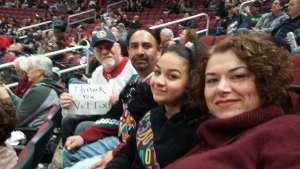 Patrick attended Arizona Coyotes vs. Carolina Hurricanes - NHL on Feb 6th 2020 via VetTix