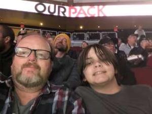 Richard attended Arizona Coyotes vs. Carolina Hurricanes - NHL on Feb 6th 2020 via VetTix