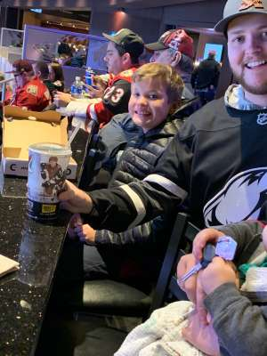 Tim attended Arizona Coyotes vs. Carolina Hurricanes - NHL on Feb 6th 2020 via VetTix