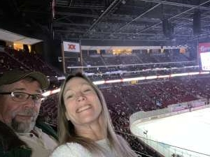 Jesse attended Arizona Coyotes vs. Carolina Hurricanes - NHL on Feb 6th 2020 via VetTix