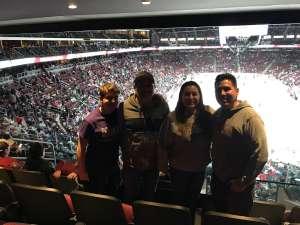 Daniel attended Arizona Coyotes vs. Carolina Hurricanes - NHL on Feb 6th 2020 via VetTix