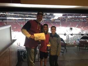 Brad attended Arizona Coyotes vs. Carolina Hurricanes - NHL on Feb 6th 2020 via VetTix