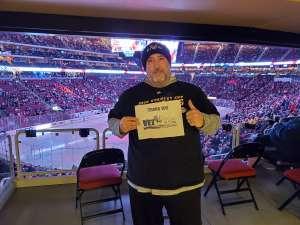 Tom attended Arizona Coyotes vs. Carolina Hurricanes - NHL on Feb 6th 2020 via VetTix