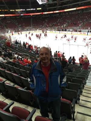 Louis Lopez attended Arizona Coyotes vs. Carolina Hurricanes - NHL on Feb 6th 2020 via VetTix