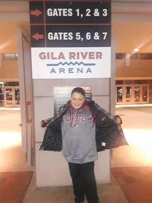 Sergio attended Arizona Coyotes vs. Carolina Hurricanes - NHL on Feb 6th 2020 via VetTix