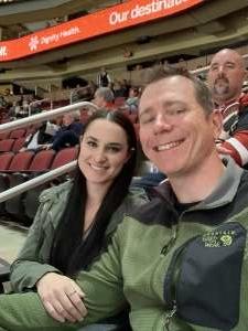 Drew attended Arizona Coyotes vs. Carolina Hurricanes - NHL on Feb 6th 2020 via VetTix